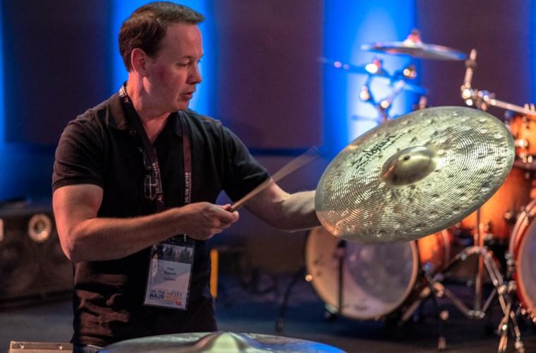 paul francis of zildjian cymbals