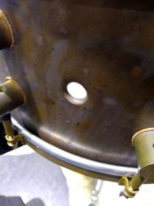 A&F bell series snare close up