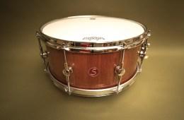 "Sugar Percussion mahogany 15"" x 7"" snare"