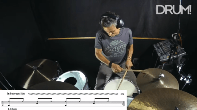 Lesson: Adjusting The Eighth Note Playing Between Straight And Swung