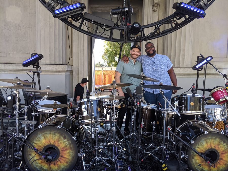 andrew campanelli and pj howard, drummers of the revivalists
