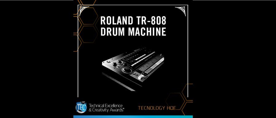 Roland TR-808 Selected for NAMM TECnology Hall of Fame