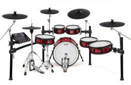 alesis strike pro electronic drum set