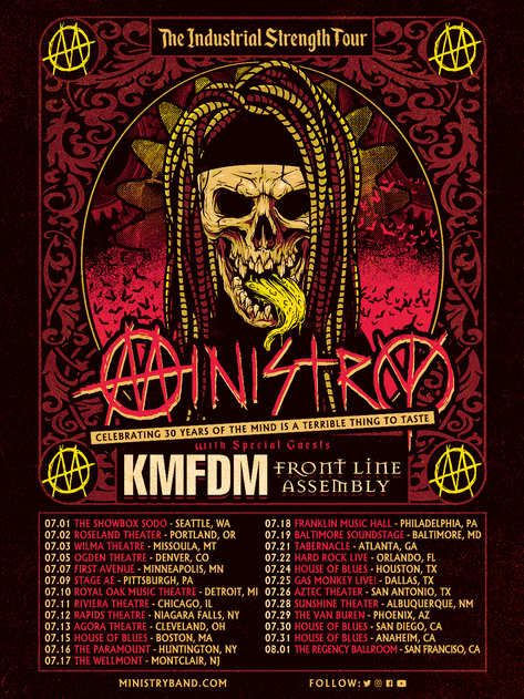 ministry tour poster