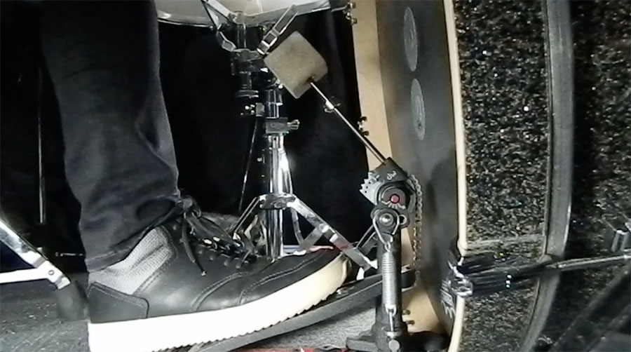 Lesson: Heel-Up Vs. Heel-Down Bass Drum Foot Technique