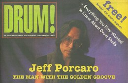 jeff porcaro drum magazine cover