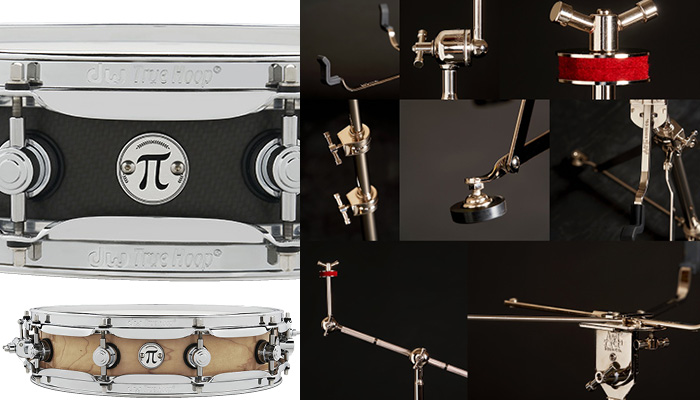 DW pi snare and A&F hardware