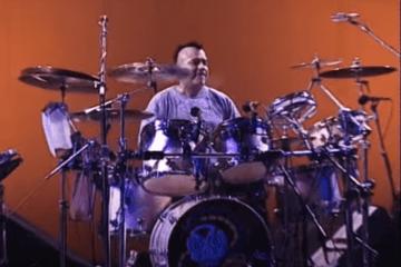 drummer johnny vatos hernandez of oingo boingo