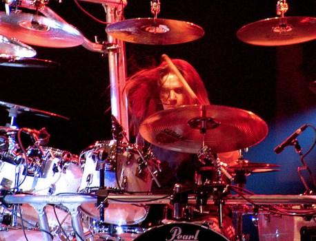 Shawn Drover (Megadeth-Hellfest 2012)