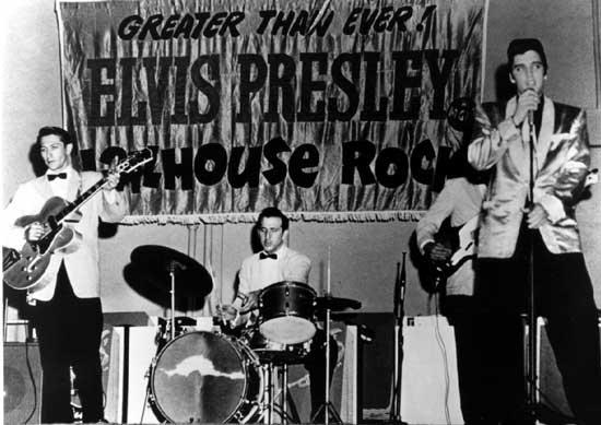 Color Rock Elvis Jailhouse