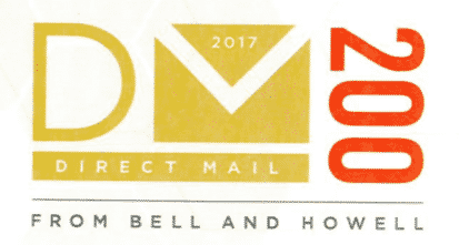 Drummond wins 2017 DM top 200 for direct mail services