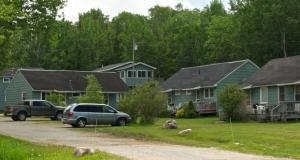 Birchtree Resort from marina