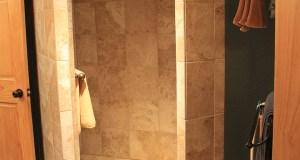 Downstairs Bathroom Shower