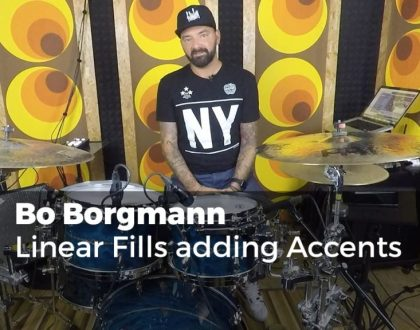 Linear Fills adding Accents mit Bo Borgmann