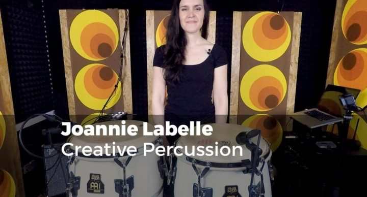 Creative Percussion with Joannie Labelle