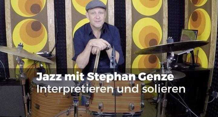 Stephan Genze - Interpretieren und solieren