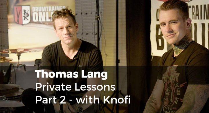 Thomas Lang private lesson Part 2