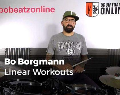 Linear Workouts mit Bo Borgmann