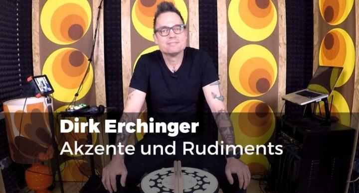 Dirk Erchinger - Akzente und Rudiments