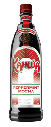 Kahlua Peppermint Mocha bottle