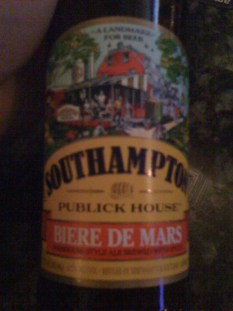 A bottle of Southampton Publick House Biere de Mars