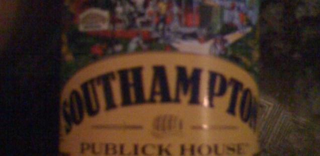 A bottle of Southampton Publick House Biere de Mars