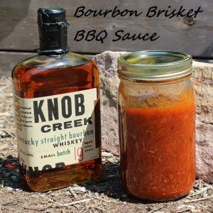 Bourbon Brisket BBQ Sauce. Photo courtesy of The Backyard Pioneer