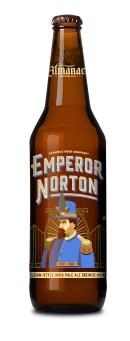 A bottle of Emperor Norton