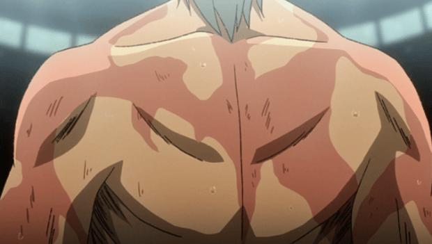 Megalo box ep 13 Yuri Scars