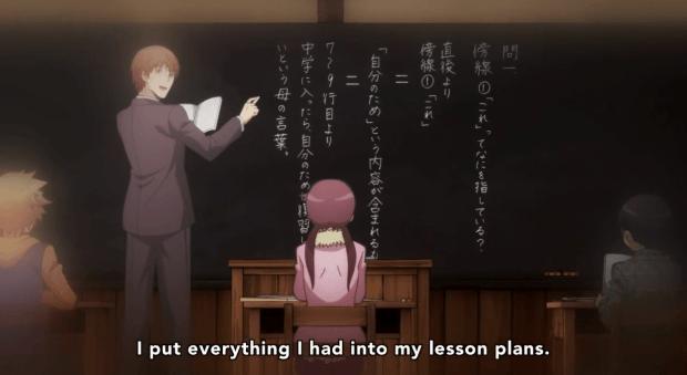 Assassination classroom flashback