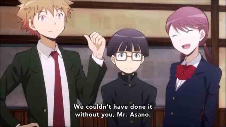 Assassination Classroom Ikeda Mori and Nagai