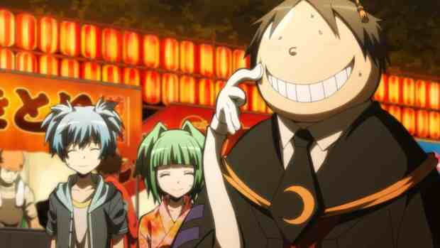 Assassination classroom koro sensei