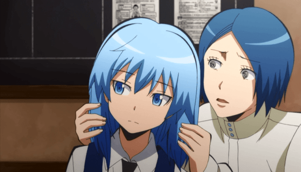Assassination Classroom nagisa and his mom