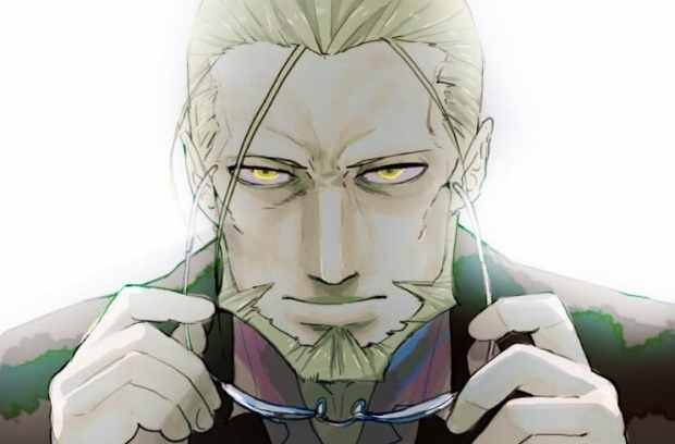 Fullmetal Alchemist Van Hohenheim