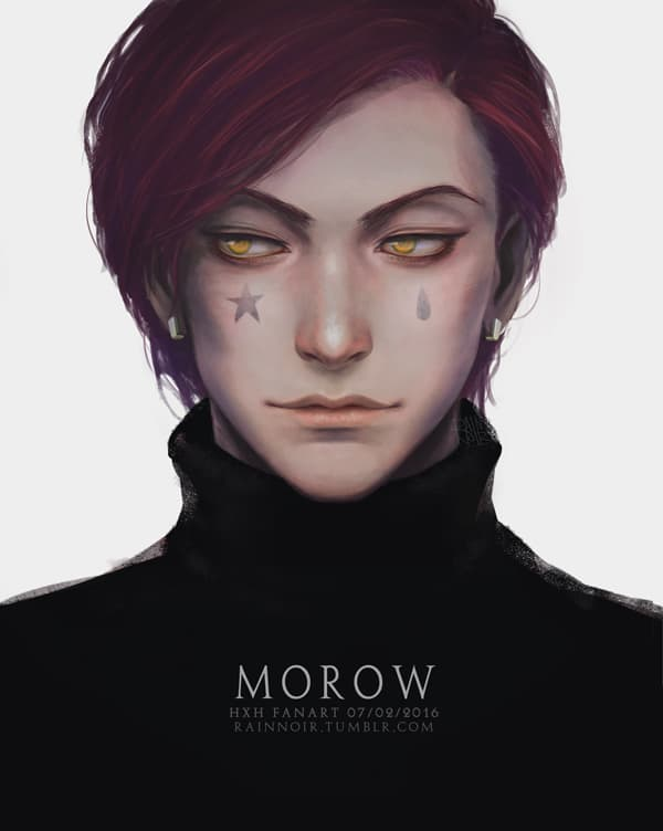 hisoka fanart by rainnoir