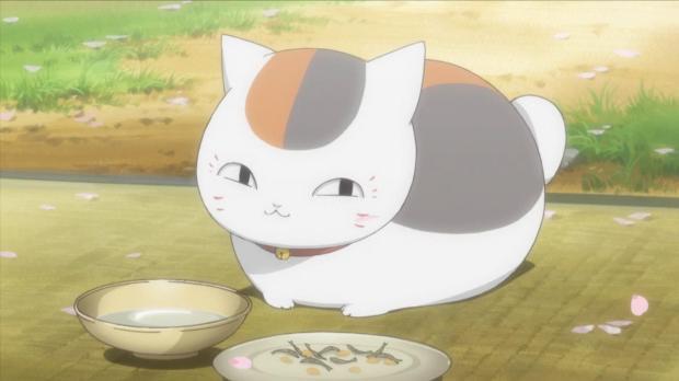 nyanko and food