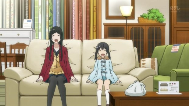 flying witch comfortable