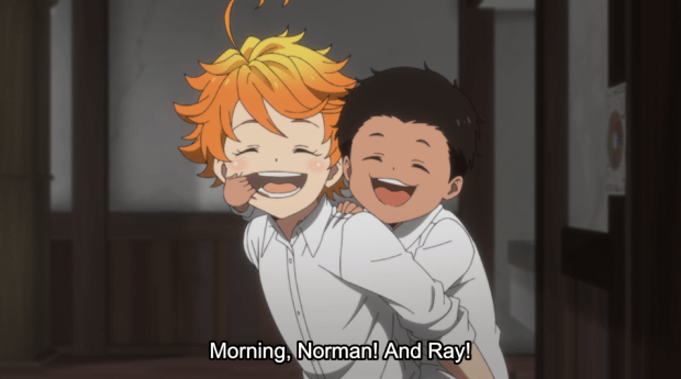 Promised Neverland ep 1 (4)