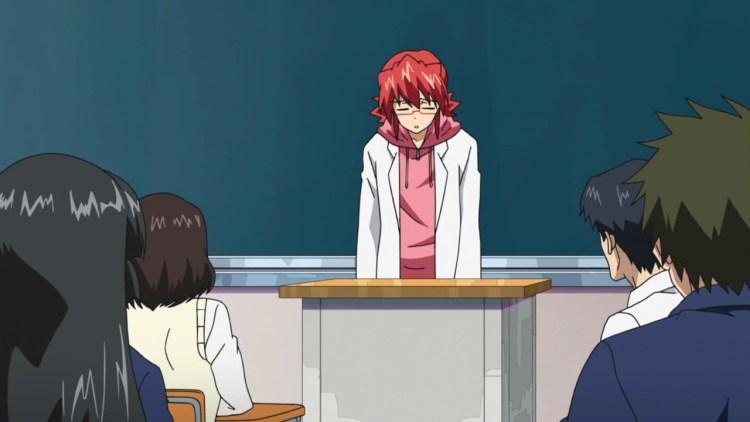 anime depressed teacher