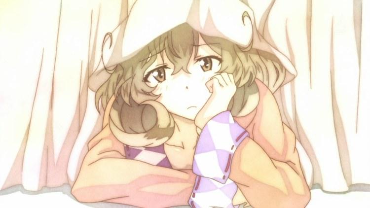 sasami_sanganbaranai-10-sasami-bored-pajamas-hiding_under_bed