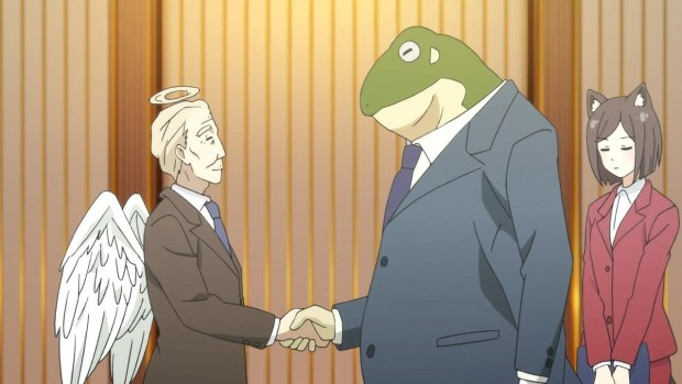 anime handshake