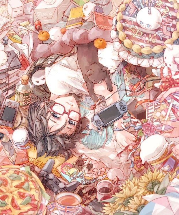 anime mess