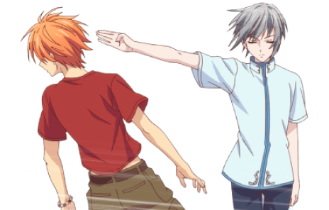 Fruits.Basket Yuki and Kyo