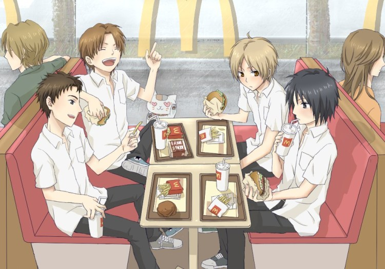 Natsume.Yuujinchou and friends