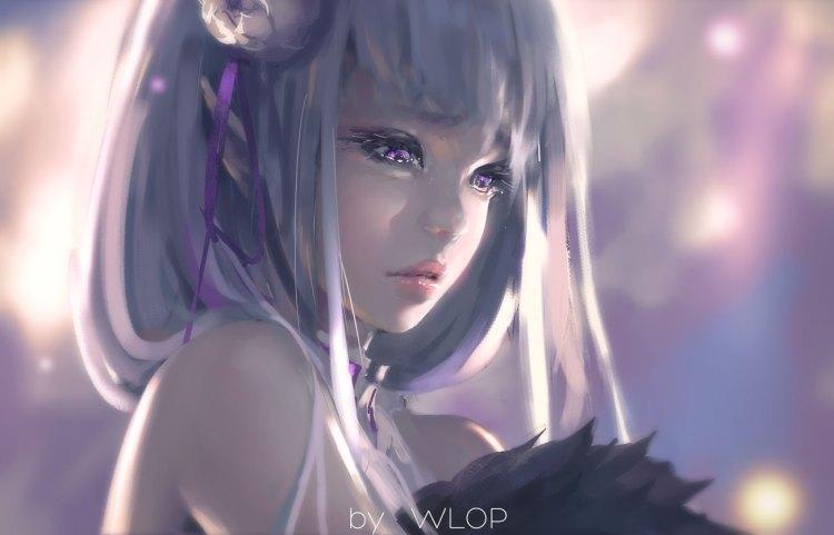 Emilia.(Re Zero).