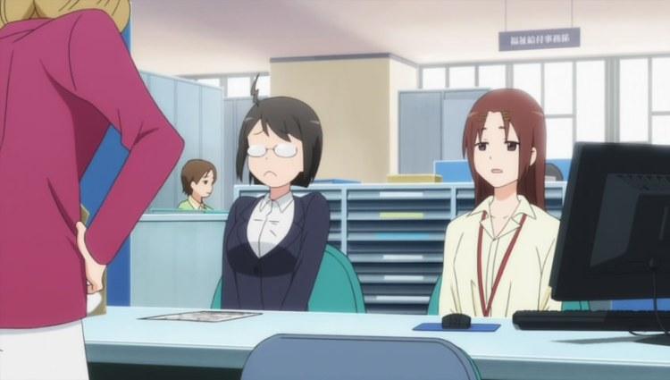 anime office work