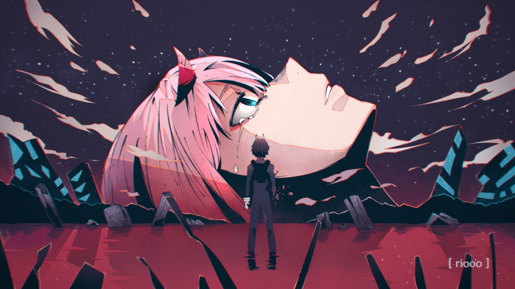 end of eva and the Franxx