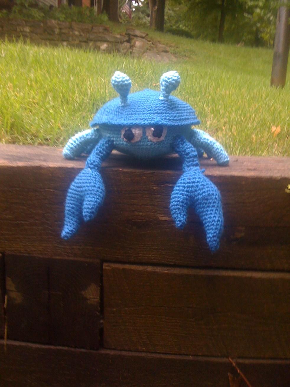 Crochet Crab pattern