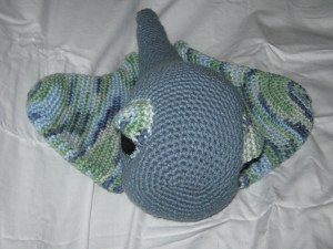 Cute crocheted Stingray