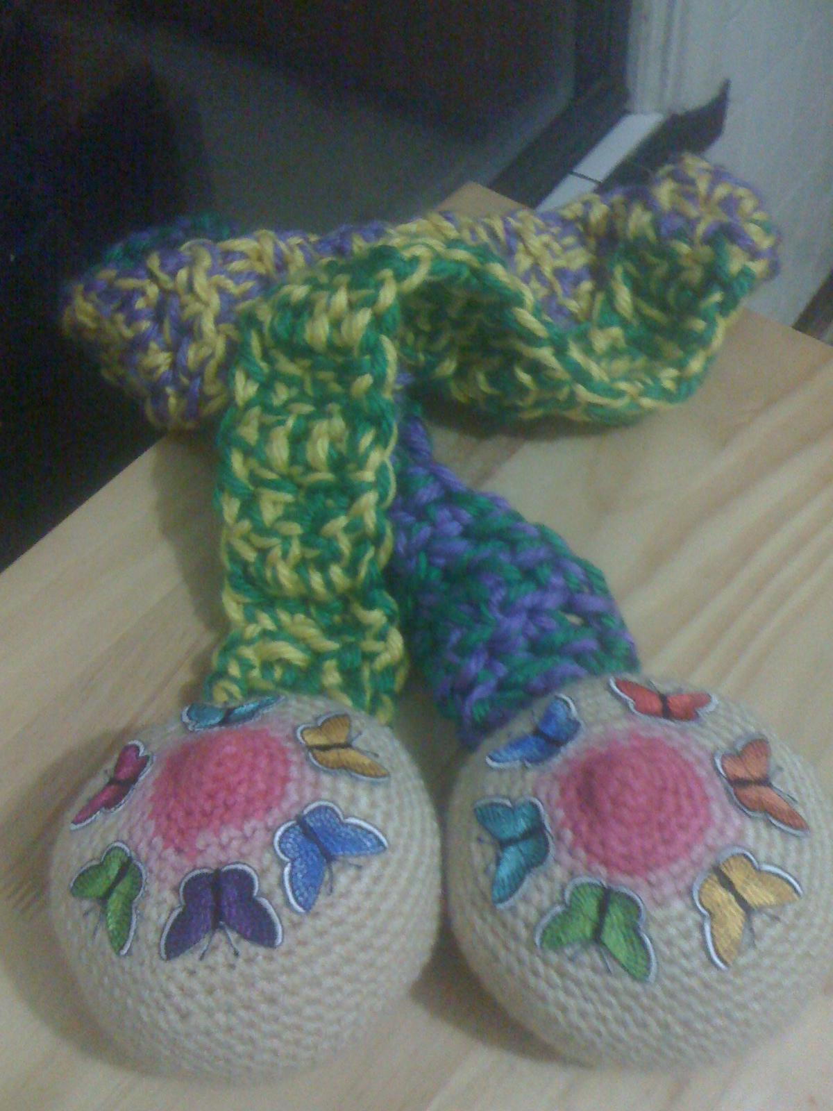 Boob scarf knitting pattern
